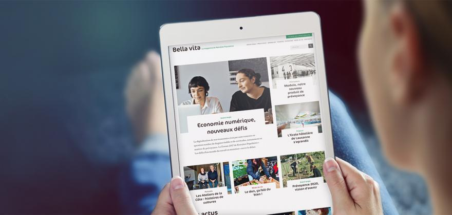 Découvrez le magazine Bella vita
